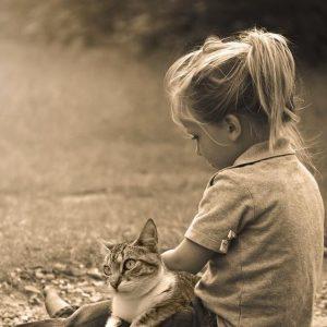 Avantages d'avoir un chat pour les enfants