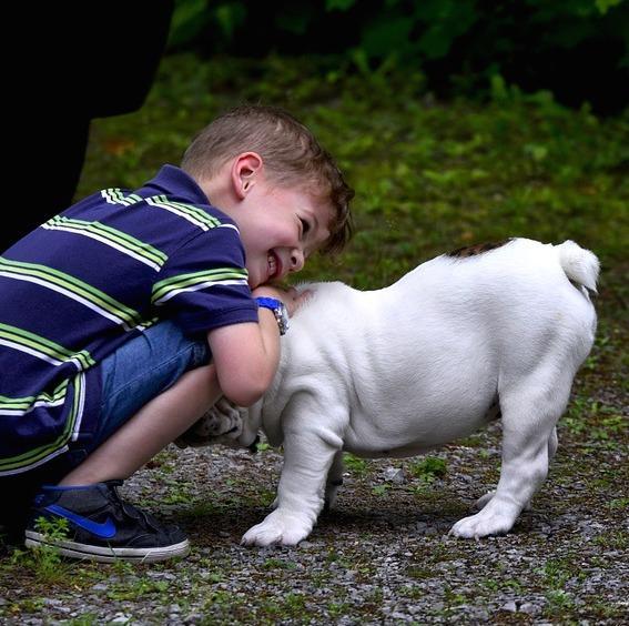 Avantages d'avoir un chien pour les enfants